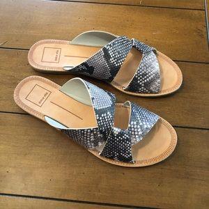 Dolce Vita snake print sandals